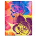 Pop Art Roses Apple iPad 3/4 Flip Case View1