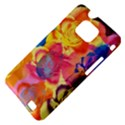 Pop Art Roses Samsung Galaxy S II i9100 Hardshell Case (PC+Silicone) View4