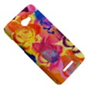Pop Art Roses HTC Butterfly X920E Hardshell Case View5