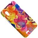 Pop Art Roses HTC Desire VT (T328T) Hardshell Case View5