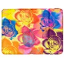 Pop Art Roses Samsung Galaxy Tab 7  P1000 Flip Case View1