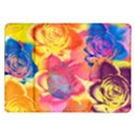 Pop Art Roses Samsung Galaxy Tab 10.1  P7500 Flip Case View1