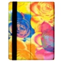 Pop Art Roses Samsung Galaxy Tab 10.1  P7500 Flip Case View2