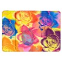 Pop Art Roses Samsung Galaxy Tab 8.9  P7300 Flip Case View1
