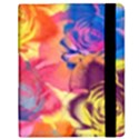 Pop Art Roses Samsung Galaxy Tab 8.9  P7300 Flip Case View2
