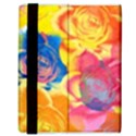 Pop Art Roses Samsung Galaxy Tab 8.9  P7300 Flip Case View3