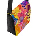 Pop Art Roses Flap Messenger Bag (L)  View2