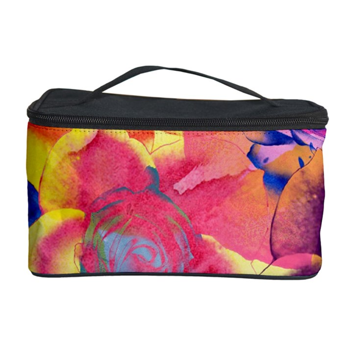 Pop Art Roses Cosmetic Storage Case