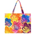 Pop Art Roses Large Tote Bag View1