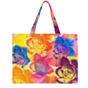 Pop Art Roses Large Tote Bag View2