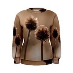 2  Verwelkte Kugeldistel Women s Sweatshirt