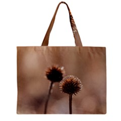 2  Verwelkte Kugeldistel Zipper Mini Tote Bag