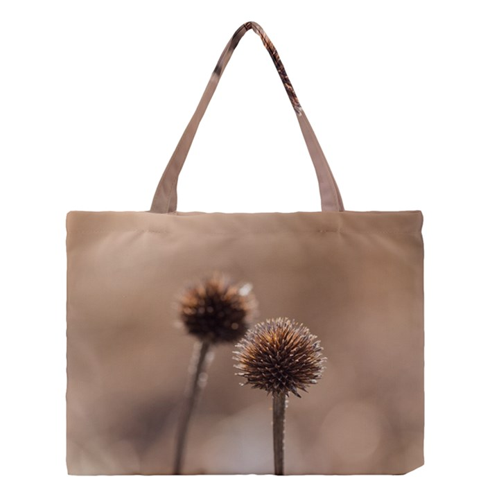 2  Verwelkte Kugeldistel Medium Tote Bag