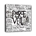 Pierce The Veil Music Band Group Fabric Art Cloth Poster Mini Canvas 6  x 6  View1
