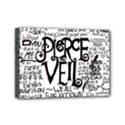 Pierce The Veil Music Band Group Fabric Art Cloth Poster Mini Canvas 7  x 5  View1