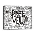 Pierce The Veil Music Band Group Fabric Art Cloth Poster Canvas 10  x 8  View1