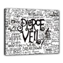 Pierce The Veil Music Band Group Fabric Art Cloth Poster Canvas 20  x 16  View1