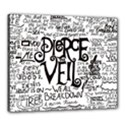 Pierce The Veil Music Band Group Fabric Art Cloth Poster Canvas 24  x 20  View1