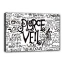 Pierce The Veil Music Band Group Fabric Art Cloth Poster Canvas 18  x 12  View1