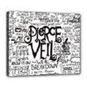 Pierce The Veil Music Band Group Fabric Art Cloth Poster Deluxe Canvas 24  x 20   View1