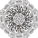 Pierce The Veil Music Band Group Fabric Art Cloth Poster Hook Handle Umbrellas (Medium) View1