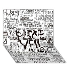 Pierce The Veil Music Band Group Fabric Art Cloth Poster YOU ARE INVITED 3D Greeting Card (7x5)