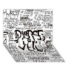 Pierce The Veil Music Band Group Fabric Art Cloth Poster Hope 3d Greeting Card (7x5)