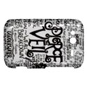 Pierce The Veil Music Band Group Fabric Art Cloth Poster HTC Wildfire S A510e Hardshell Case View1