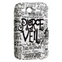 Pierce The Veil Music Band Group Fabric Art Cloth Poster HTC Wildfire S A510e Hardshell Case View2