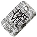 Pierce The Veil Music Band Group Fabric Art Cloth Poster HTC Wildfire S A510e Hardshell Case View4