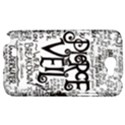 Pierce The Veil Music Band Group Fabric Art Cloth Poster Samsung Galaxy Note 2 Hardshell Case View1