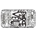 Pierce The Veil Music Band Group Fabric Art Cloth Poster Apple iPhone 4/4S Hardshell Case (PC+Silicone) View1