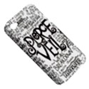 Pierce The Veil Music Band Group Fabric Art Cloth Poster Apple iPhone 4/4S Hardshell Case (PC+Silicone) View5