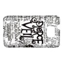 Pierce The Veil Music Band Group Fabric Art Cloth Poster Samsung Galaxy S II i9100 Hardshell Case (PC+Silicone) View1