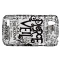 Pierce The Veil Music Band Group Fabric Art Cloth Poster HTC Desire V (T328W) Hardshell Case View1