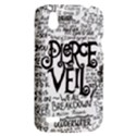 Pierce The Veil Music Band Group Fabric Art Cloth Poster HTC Desire V (T328W) Hardshell Case View2