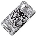 Pierce The Veil Music Band Group Fabric Art Cloth Poster HTC Desire VT (T328T) Hardshell Case View4