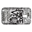 Pierce The Veil Music Band Group Fabric Art Cloth Poster Samsung Galaxy Ace Plus S7500 Hardshell Case View1