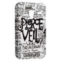 Pierce The Veil Music Band Group Fabric Art Cloth Poster Samsung Galaxy Ace Plus S7500 Hardshell Case View2