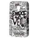 Pierce The Veil Music Band Group Fabric Art Cloth Poster Samsung Galaxy Ace Plus S7500 Hardshell Case View3
