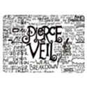 Pierce The Veil Music Band Group Fabric Art Cloth Poster Samsung Galaxy Tab 10.1  P7500 Flip Case View1
