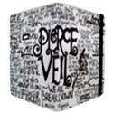 Pierce The Veil Music Band Group Fabric Art Cloth Poster Samsung Galaxy Tab 10.1  P7500 Flip Case View4