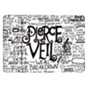 Pierce The Veil Music Band Group Fabric Art Cloth Poster Samsung Galaxy Tab 8.9  P7300 Flip Case View1