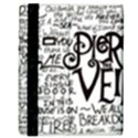 Pierce The Veil Music Band Group Fabric Art Cloth Poster Samsung Galaxy Tab 8.9  P7300 Flip Case View3
