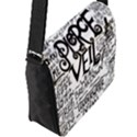 Pierce The Veil Music Band Group Fabric Art Cloth Poster Flap Messenger Bag (L)  View2