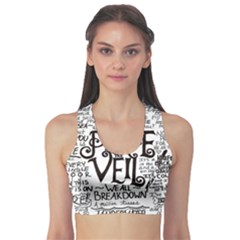 Pierce The Veil Music Band Group Fabric Art Cloth Poster Sports Bra