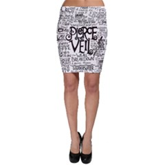 Pierce The Veil Music Band Group Fabric Art Cloth Poster Bodycon Skirt