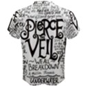 Pierce The Veil Music Band Group Fabric Art Cloth Poster Men s Cotton Tee View2