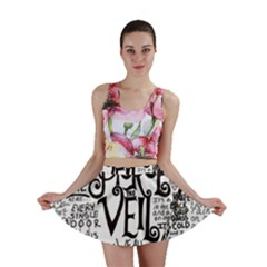 Pierce The Veil Music Band Group Fabric Art Cloth Poster Mini Skirt