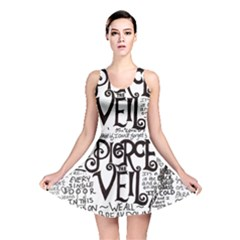 Pierce The Veil Music Band Group Fabric Art Cloth Poster Reversible Skater Dress